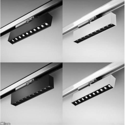 AQFORM RAFTER points LED track lampa 3F do szyn
