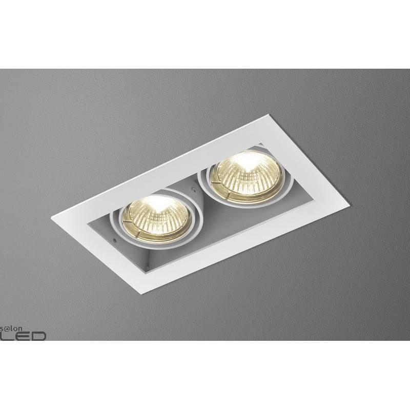 Luminaire aquaform squares 50x2 recessed 12v 35612 for Ecksofa 2 50x2 50