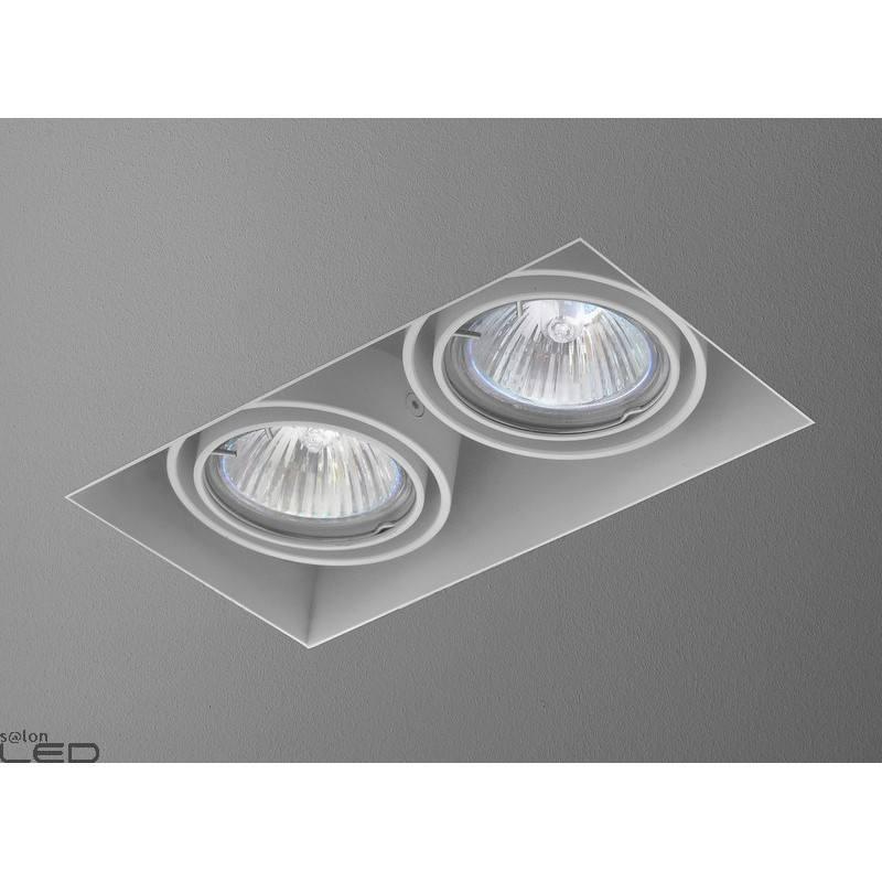 Luminaire aquaform squares 50x2 trimless recessed 12v 35712 for Ecksofa 2 50x2 50