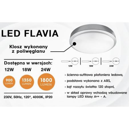 KOBI FLAVIA lampa natynkowa LED 4000K