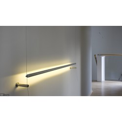 Wall stranded with ceiling mounted LED wall