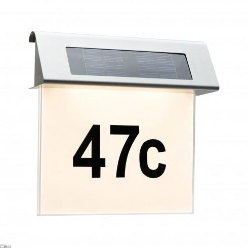 Paulmann Solar House Number