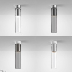 AQFORM MODERN GLASS Tube GU10 natynkowy 40401, 40461