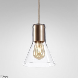 AQUAFORM MODERN GLASS Flared TP E27 suspended 50474