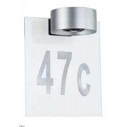 Paulmann House number for wall luminaire