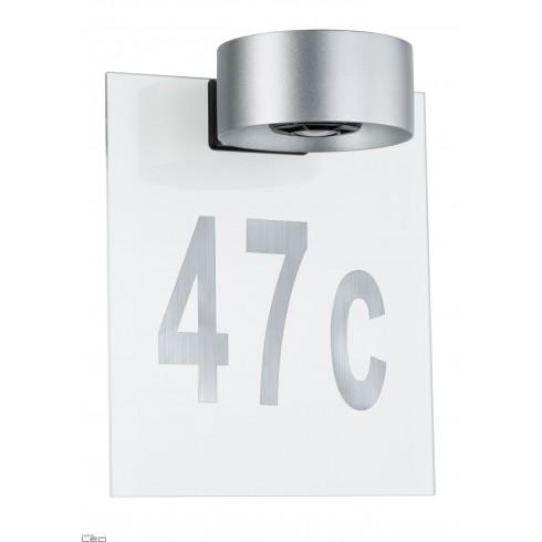 Paulmann House number for wall luminaire