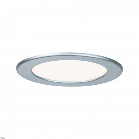 Paulmann Quality Recessed white panel, chrome