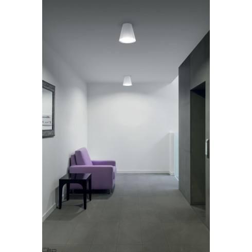 Ceiling lamp LINEA LIGHT Conus 7251, 7252 white, grey