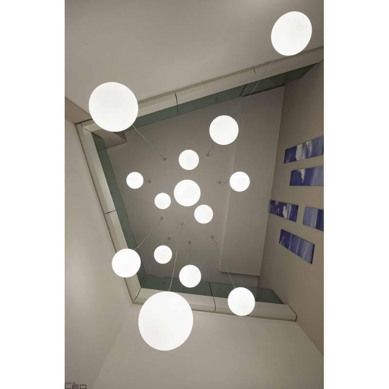 LINEA LIGHT OH! P 10101 lampa wisząca w formie białej kuli