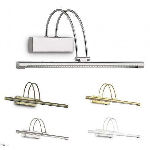 IDEAL LUX Bow AP66 CROMO 07045 AP66 Bow CROMO 07045 chrome sconce over images