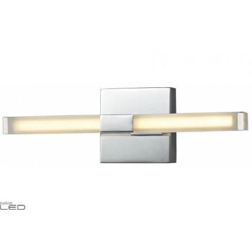 REALITY CHROMI LED wall light chrome 2x3,2W IP44