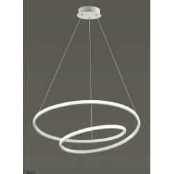 AUHILON ROSSO WH white pendant lamp LED 48W