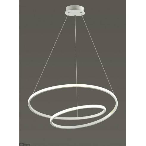 AUHILON ROSSO WH white pendant lamp LED 48W
