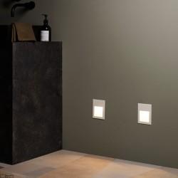 ASTRO Borgo 90 LED 2700K alu, white, stainless steel