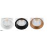 Maxlight TUB Pierścień dekoracyjny RC0155/C0156 biały, czarny, złoty