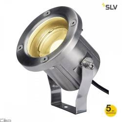 SLV Nautilus Spike LED 1001962 stainless steel