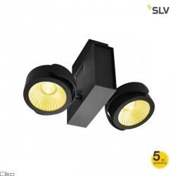 SLV TEC KALU double LED 31W black, white