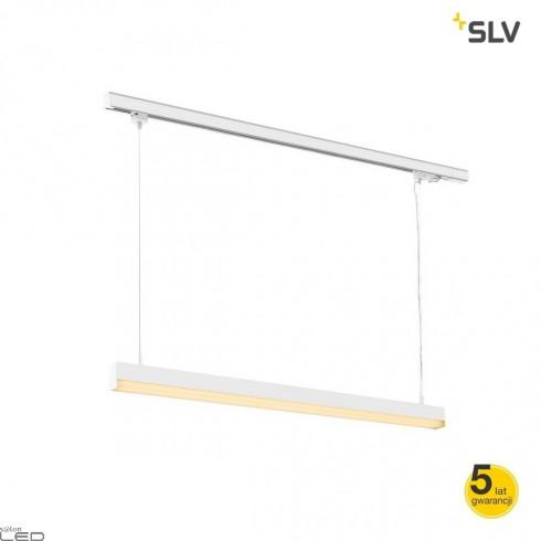 SLV SIGHT TRACK 3F PD pendant lamp 114,5cm grey, white, black