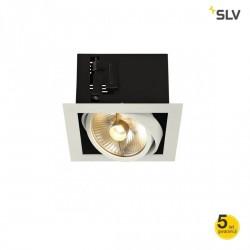 SLV KADUX 11554 single QPAR111 black, white, alu