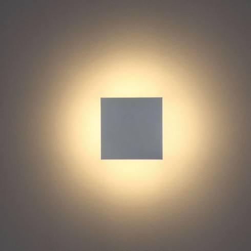 Kinkiet LED ELKIM PLATA 295 biały, czarny