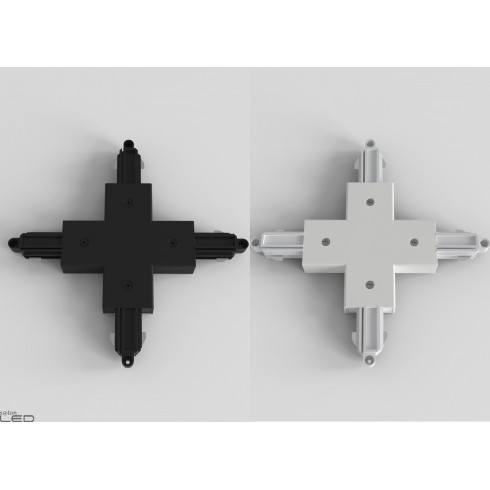 Track Connector X for systems 1F white, black