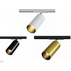 ELKIM LAZER/T Track 219 XL biały, czarny, złoty LED 9W