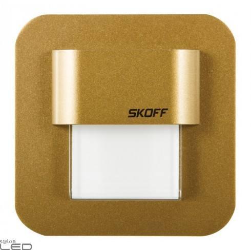 Oprawa LED SALSA MINI mosiądz mat, biały ciepły