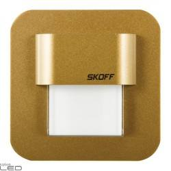 Oprawa LED SALSA MINI STICK mosiądz mat, biały ciepły