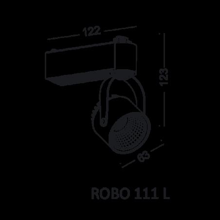 ELKIM ROBO 111 L track light 1-phase