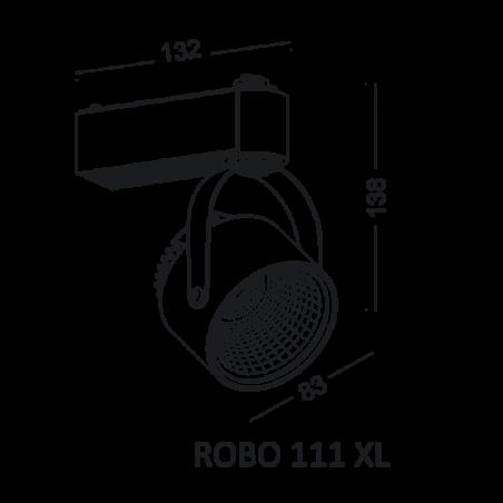 ELKIM ROBO 111 XL track light 1-phase