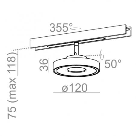 AQform KARI 11 LED multitrack 16340