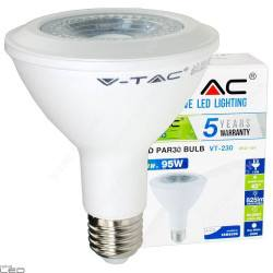 Żarówka LED PAR30 E27 12W biała ciepła, naturalna