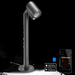 STEINEL SPOT WAY Connect z czujnikiem antracyt LED 7W