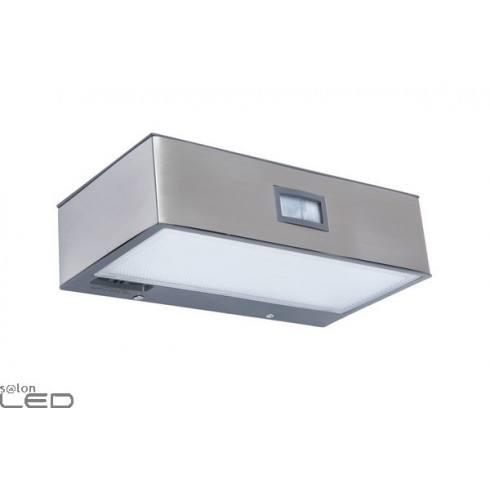 LUTEC BRICK Outdoor wall lamp with motion sensor