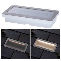 Paulmann Floor recessed light set solar ARON sensor 20x10cm