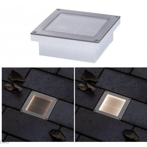 Paulmann Floor recessed light solar ARON sensor 10x10cm