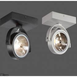 Reflektor ELKIM LIRIO 128/1 biały, czarny 230V