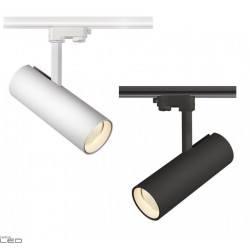 Reflektor szynowy 3F NEXTRACK NT4 MINI biały, czarny