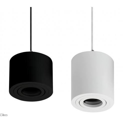 OXYLED CROSTI SASARI RO lampa wisząca GU10 biała, czarna