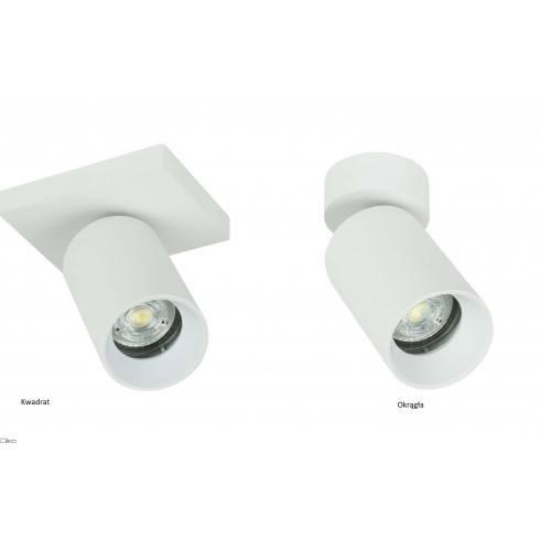 OXYLED CROSTI LACCE SQ ceinling lamp GU10