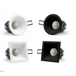 OXYLED PERO SQ/RO podtynkowa oprawa LED 6W/10W