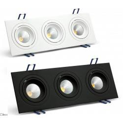 OXYLED MODI DUE SQUARE recessed LED