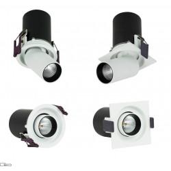 OXYLED DELLE podtynkowy kwadrat/okrągła LED 6W