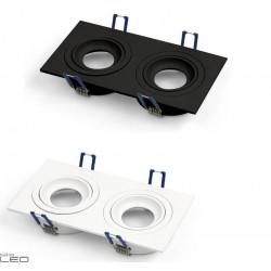 OXYLED Crosti MODI DUE 2xGU10 black or white