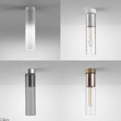 AQFORM MODERN GLASS Tube E27 natynkowy 40414, 40455