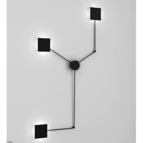 AQFORM MAXI POINT square LED 230V spider wall 26507