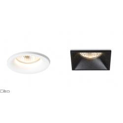 REDLUX ZURI R, SQ Recessed GU10 luminaire