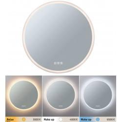 Paulmann Home SPA MIRRA round bathroom mirror LED