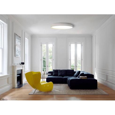OXYLED VIANA plafon LED biały, czarny 3000K