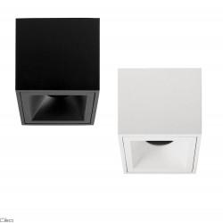 OXYLED CROSTI PERO SQ tube GU10 square 9cmx9cm white, black